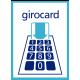 Girocard Aufkleber